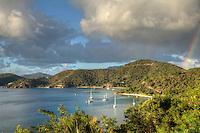 Dusk in Round Bay<br /> St. John<br /> U.S. Virgin Islands