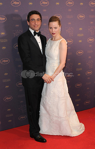 Jean-David Blanc and Melissa George  at the Opening Gala Dinner during The 69th Annual Cannes Film Festival on May 11, 2016 in Cannes, France.<br /> CAP/LAF<br /> &copy;Lafitte/Capital Pictures /MediaPunch ***NORTH AND SOUTH AMERICAN SALES ONLY***