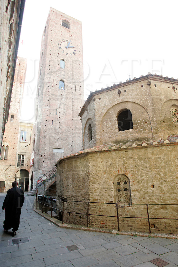 Il Battistero di Albenga.<br /> The Baptistery of Albenga.<br /> UPDATE IMAGES PRESS/Riccardo De Luca