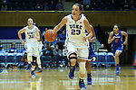 19 December 2014: Duke's Rebecca Greenwell (23). The Duke University Blue Devils hosted the University of Massachusetts Lowell River Hawks at Cameron Indoor Stadium in Durham, North Carolina in a 2014-15 NCAA Division I Women's Basketball game. Duke won the game 95-48.