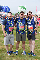 Scouting for Girls<br /> at the start of the 2017 London Marathon on Blackheath Common, London. <br /> <br /> <br /> ©Ash Knotek  D3253  23/04/2017