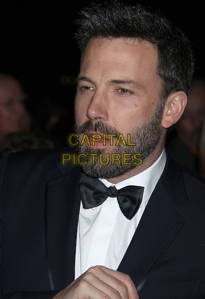 Ben Affleck.24th Annual Palm Springs International Film Festival Awards Gala held at at Palm Springs Convention Center, Palm Springs, California, USA,.5th January 2013..headshot portrait black tuxedo tux bow tie beard facial hair  mouth open.CAP/ADM/RE.©Russ Elliot/AdMedia/Capital Pictures.