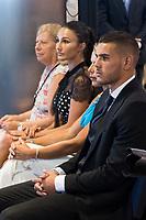 Theo Hernandez and his girlfiend Adriana Pozueco
