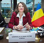 BRUSSELS - BELGIUM - 25 November 2016 -- European Training Foundation (ETF) Governing Board meeting. -- Gabriela Liliana Petre, Director National Center for Technical and Vocational Education and Training Development. -- PHOTO: Juha ROININEN / EUP-IMAGES