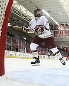 Ashley Motherwell (BC - 18) - The visiting St. Lawrence University Saints defeated the Boston College Eagles 4-0 on Friday, January 15, 2010, at Conte Forum in Chestnut Hill, Massachusetts.