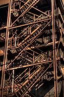Abandoned steelworks