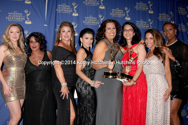 LOS ANGELES - JUN 20:  Bold and Beautiful Hair, Makeup Winners at the 2014 Creative Daytime Emmy Awards at the The Westin Bonaventure on June 20, 2014 in Los Angeles, CA