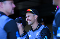 NZ's Trent Boult before the 4th Twenty20 International cricket match between NZ Black Caps and England at McLean Park in Napier, New Zealand on Friday, 8 November 2019. Photo: Dave Lintott / lintottphoto.co.nz