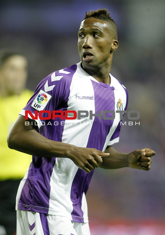 Real Valladolid's Zakarya Bergdich during La Liga match.August 31,2013. Foto © nph / Acero)
