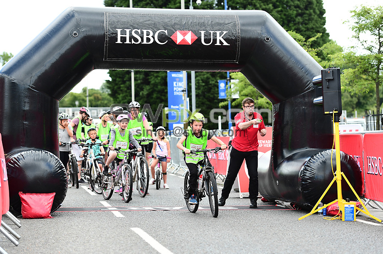 Picture by Alex Broadway/SWpix.com - 13/08/2017 - British Cycling - HSBC UK City Ride - Leicester, England.