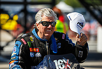 Apr 23, 2017; Baytown, TX, USA; NHRA funny car driver John Force during the Springnationals at Royal Purple Raceway. Mandatory Credit: Mark J. Rebilas-USA TODAY Sports