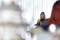 BRASÍLIA, DF, 09.02.2017 – MARCELA-TEMER – A primeira-dama Marcela Temer, durante Evento da Campanha Criança Feliz na manhã desta quarta-feira, 09, no Palácio da Alvorada. (Foto: Ricardo Botelho/Brazil Photo Press)