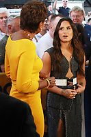 NEW YORK, NY - SEPTEMBER 7: Demi Lovato at Good Morning America promoting her Fabletics collection to benefiting SchoolCycle in New York City on September 05, 2017. Credit: RW/MediaPunch