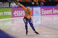 SCHAATSEN: HEERENVEEN: IJsstadion Thialf, 17-11-2012, Essent ISU World Cup, Season 2012-2013, Ladies 2nd 500 meter Division A, Laurine van Riessen (NED), ©foto Martin de Jong