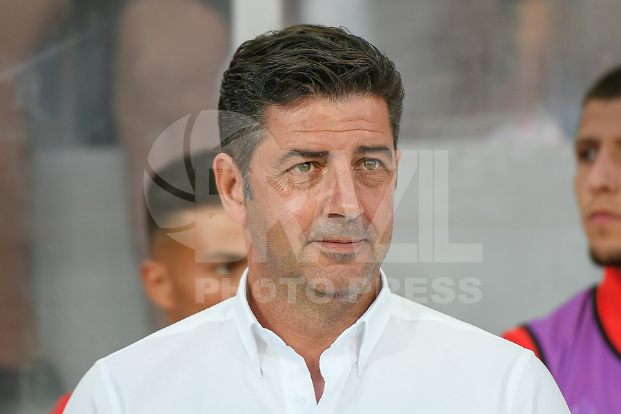 LOULE, PORTUGAL, 20.07.2017 - ALGARVE FOOTBALL CUP 2017: BENFICA x REAL BETIS - Rui Vitoria, Treinador do Benfica, durante a partida de futebol a contar para o Algarve Football Cup 2017 entre Benfica e Real Betis, no Estádio do Algarve, em Louke, Portugal, nessa quinta 20. (Foto: Bruno de Carvalho / Brazil Photo Press)