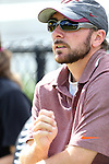 29 September 2013: Virginia Tech assistant coach Andrew Kopp. The Duke University Blue Devils hosted the Virginia Tech University Hokies at Koskinen Stadium in Durham, NC in a 2013 NCAA Division I Women's Soccer match. The game ended in a 1-1 tie after two overtimes.