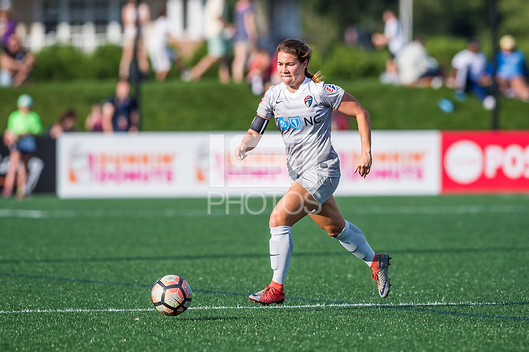 Boston, MA - Saturday June 24, 2017: Sam Witteman during a regular season National Women's Soccer League (NWSL) match between the Boston Breakers and the North Carolina Courage at Jordan Field.