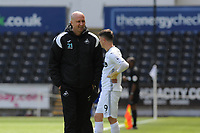 Head Coaches Cameron Toshack of Swansea City u23's during the Premier League Cup: Semi Final match between Swansea City and Everton at the Liberty Stadium in Swansea, Wales, UK.  Saturday 04 May 2019
