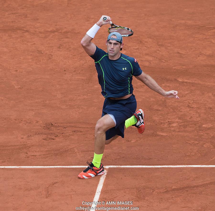 BOBBY GINEPRI (USA)<br /> <br /> Tennis - French Open 2014 -  Toland Garros - Paris -  ATP-WTA - ITF - 2014  - France -  26 May 2014. <br /> <br /> &copy; AMN IMAGES
