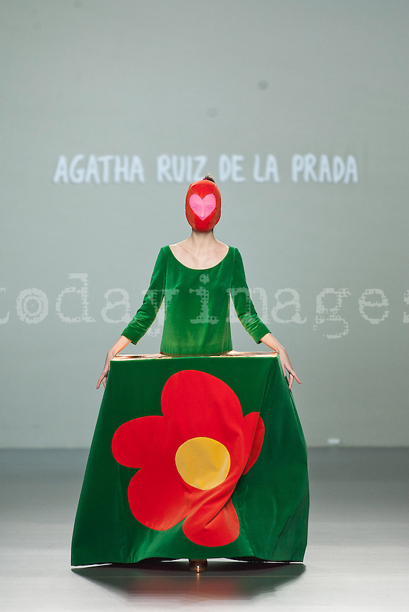Agatha Ruiz de la Prada at Mercedes-Benz Fashion Week Madrid 2013