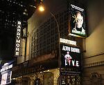 'Alton Brown LIVE!' - Theatre Marquee