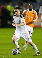 CARSON, CA - November 20, 2011: LA Galaxy forward Robbie Keane (14) during the MLS Cup match between LA Galaxy and Houston Dynamo at the Home Depot Center in Carson, California. Final score LA Galaxy 1, Houston Dynamo 0.