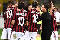 Vincenzo Montella<br /> Milano 27-08-2017 Stadio Giuseppe Meazza in San Siro Calcio Serie A<br /> 2017/2018 Milan - Cagliari Foto Imagesport/Insidefoto