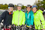 Ellen O'Neill, Katie McSweeney, Marion Jane Burguess and Marie Magner Killorglin at the three Climbs Cycle in Killarney on Sunday