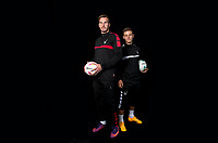 Goalkeeper Scott Brown with Dominic Gape (right)  during the PEAK Elite Sportswear Photoshoot at Wycombe Training Ground, High Wycombe, England on 1 August 2017. Photo by PRiME Media Images.