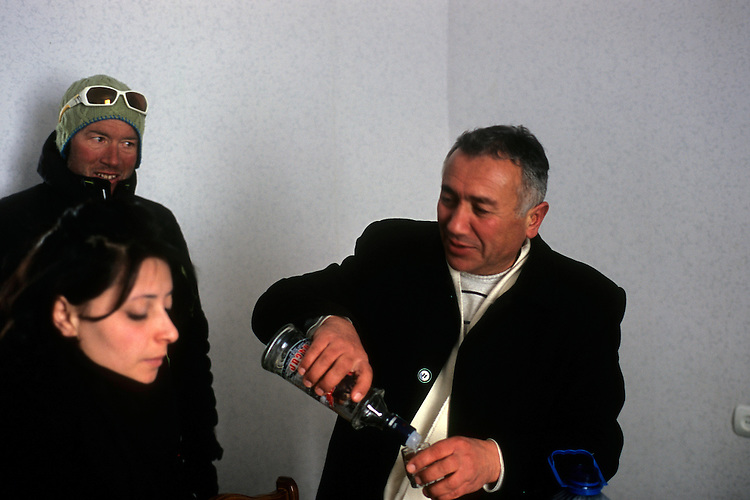 Celebrating, Vardahovit, Armenia, February 2014