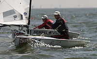 20th SPA Regatta - Medemblik.26-30 May 2004..Copyright free image for editorial use. Please credit Peter Bentley..Laura Balwin - GBR