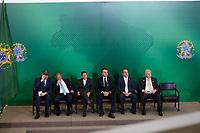 BRASILIA, DF, 07.01.2019: POLÍTICA-BRASÍLIA - Cerimônia de posse do presidente do Banco do Brasil, Rubem Novaes, do presidente do Banco Nacional de Desenvolvimento Econômico e Social (BNDES), Joaquim Levy e do presidente da Caixa Econômica Federal, Pedro Guimarães no Palácio do Planalto em Brasília (DF), nesta segunda-feira (07). (Anderson Papel/Código19)