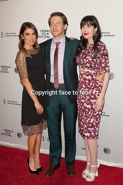 NEW YORK, NY - APRIL 24: Nikki Reed, Fran Kranz and Gillian Greene attend the premiere of 'Murder of a Cat' during the 2014 Tribeca Film Festival at SVA Theater on April 24, 2014 in New York City. <br /> Credit: Corredor99/MediaPunch<br /> Credit: MediaPunch/face to face<br /> - Germany, Austria, Switzerland, Eastern Europe, Australia, UK, USA, Taiwan, Singapore, China, Malaysia, Thailand, Sweden, Estonia, Latvia and Lithuania rights only -