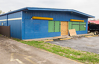 NWA Democrat-Gazette/CHARLIE KAIJO  The new Boys and Girls Club of Rogers Teen Center building is shown, Monday, March 26, 2018 in Rogers. The building is still under construction.<br />