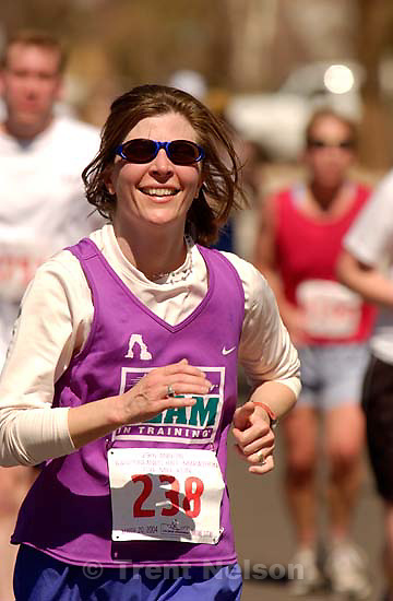 laura nelson. The 29th annual Canyonlands Half Marathon, which runs along the Colorado River on Highway 128 and into Moab.<br />