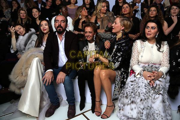 UMA THURMAN at GUO PEI Fashion Show Paris 2016<br /> Paris Haute Couture Women 2016<br /> France - 27January 2016<br /> CAP/GOL<br /> &copy;GOL/Capital Pictures