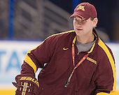 Grant Potulny (Minnesota - Assistant Coach) - The University of Minnesota Golden Gophers practiced on Wednesday, April 4, 2012, during the 2012 Frozen Four at the Tampa Bay Times Forum in Tampa, Florida.