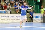 BHCs Arnor Thor Gunnarsson (Nr.11) mit seinem Jubel im Spiel der Handballliga, Bergischer HC - SC DHFK Leipzig.<br /> <br /> Foto &copy; PIX-Sportfotos *** Foto ist honorarpflichtig! *** Auf Anfrage in hoeherer Qualitaet/Aufloesung. Belegexemplar erbeten. Veroeffentlichung ausschliesslich fuer journalistisch-publizistische Zwecke. For editorial use only.