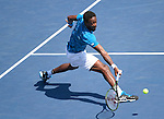 Gael Monfils (FRA) defeated Marcos Baghdatis (CYP) 6-3, 6-2, 6-3