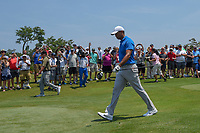 Tiger Woods (USA) heads down 1 during round 1 of The Players Championship, TPC Sawgrass, at Ponte Vedra, Florida, USA. 5/10/2018.<br /> Picture: Golffile | Ken Murray<br /> <br /> <br /> All photo usage must carry mandatory copyright credit (&copy; Golffile | Ken Murray)