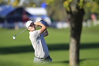 Justin Rose (Team Europe) on the 11th  during Saturday afternoon Fourball at the Ryder Cup, Hazeltine National Golf Club, Chaska, Minnesota, USA.  01/10/2016<br /> Picture: Golffile | Fran Caffrey<br /> <br /> <br /> All photo usage must carry mandatory copyright credit (&copy; Golffile | Fran Caffrey)