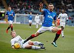 09.12.2018 Dundee v Rangers: Eros Grezda and Calvin Miller