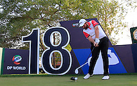 Shane Lowry (IRL) on the practice round ahead of the DP World Tour Championship, Earth Course, Jumeirah Golf Estates, Dubai, UAE.  18/11/2015.<br /> Picture: Golffile | Fran Caffrey<br /> <br /> <br /> All photo usage must carry mandatory copyright credit (&copy; Golffile | Fran Caffrey)