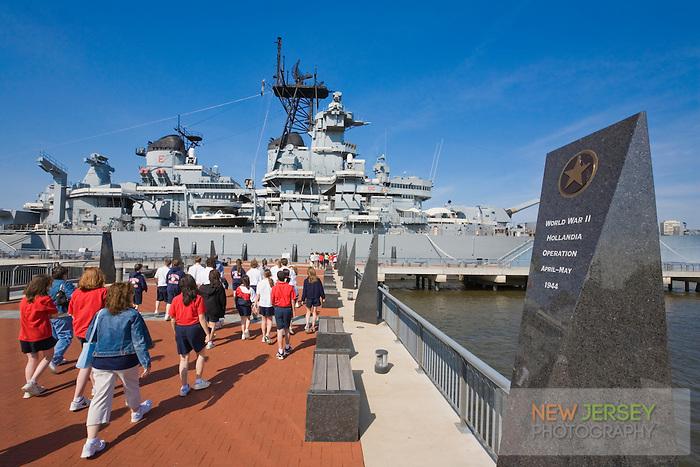 USS New Jersey Battleship (BB62), Camden Waterfront, Delaware River, New Jersey