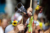 BELO HORIZONTE,MG, 08.02.2016 – CARNAVAL-BH- Bloco Baianas Ousadas , se concentraram na praça da Liberdade e desceram a Avenida João Pinheiro, rumo a Praça da Estação, na região Centro-Sul, de Belo Horizonte, nesta segunda-feira, 08. (Foto: Doug Patrício/Brazil Photo Press)