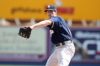 New Hampshire Fisher Cats starting pitcher B.J. LaMura #18 delivers a pitch during a game against the Reading Phillies at FirstEnergy Stadium on May 5, 2011 in Reading, Pennsylvania.  New Hampshire defeated Reading by the score of 10-5.  Photo By Mike Janes/Four Seam Images