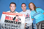 Are you ready for the Hell Mountain Challenge in Portmagee on the 26th October? Pictured here l-r; Alan Devane, Declan O'Sullivan & Aideen Martin.