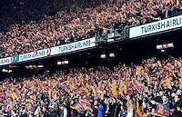 Supporters Barcelone .Football Calcio 2012/2013.La Liga Spagna.Foto Panoramic / Insidefoto .ITALY ONLY
