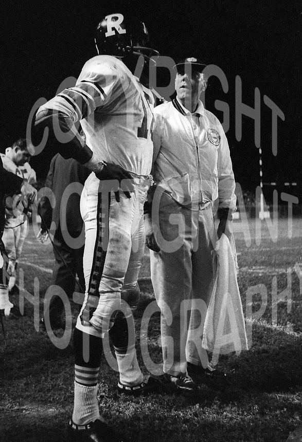 Bo Scott Ottawa Rough Riders 1965. Photo F. Scott Grant
