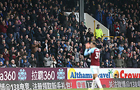 Burnley's Dwight McNeil receives a standing ovation as he leaves the field<br /> <br /> Photographer Rich Linley/CameraSport<br /> <br /> The Premier League - Burnley v Wolverhampton Wanderers - Saturday 30th March 2019 - Turf Moor - Burnley<br /> <br /> World Copyright © 2019 CameraSport. All rights reserved. 43 Linden Ave. Countesthorpe. Leicester. England. LE8 5PG - Tel: +44 (0) 116 277 4147 - admin@camerasport.com - www.camerasport.com